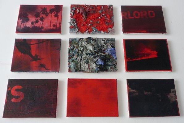 mixed media, 9x18x24, 2010