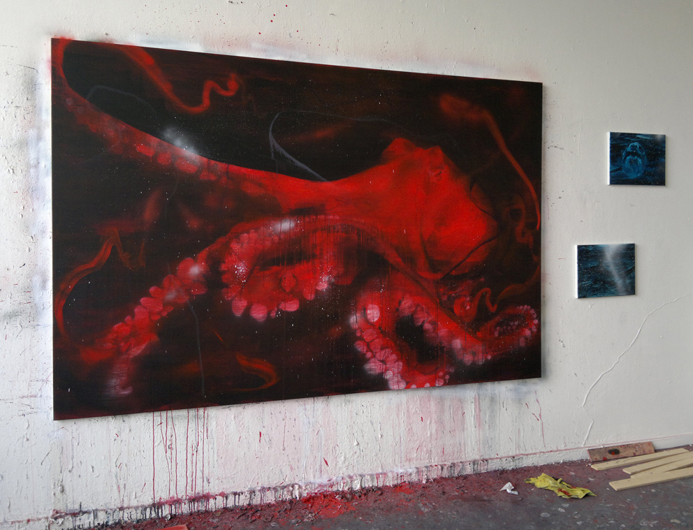 (190x240 cm, acrylic on canvas)